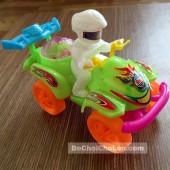 Đồ chơi xe moto 4 bánh địa hình chạy bằng dây cót