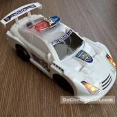 Đồ chơi xe ô tô cảnh sát chạy bằng dây cót