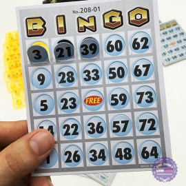 Hộp đồ chơi lồng quay lô tô 75 số Bingo Machine loại nhỏ