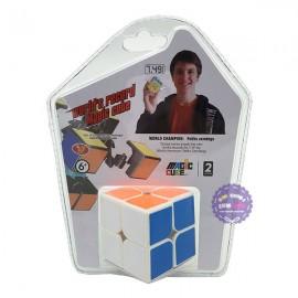 Vỉ đồ chơi Rubik Magic Cube trơn 2 hàng 2x2 bằng nhựa YJ8506