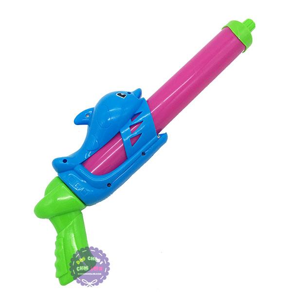 Đồ chơi ống thụt nước cá heo 1 nòng nhỏ