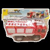 Xe cứu hỏa đỏ trắng
