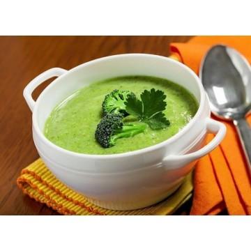 Soup thịt gà và cải nhún cho bé ngon miệng